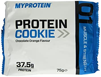 Myprotein Max Protein Cookie Box Chocolate Orange 12 x 75 g, 1er Pack (1 x 900 g)
