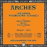 Arches Watercolor Paper Block, Rough, 7.9