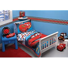 Disney 4 Piece Toddler Bedding Set Taking The Race