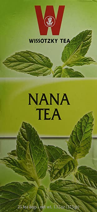 Wissotzky Tea Nana ( Pack of 2)