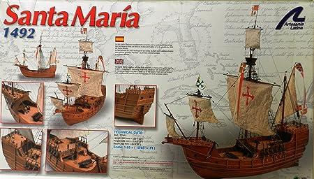 Maquette en bois - Santa Maria