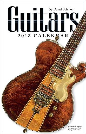 Guitars 2013 Wall Calendar