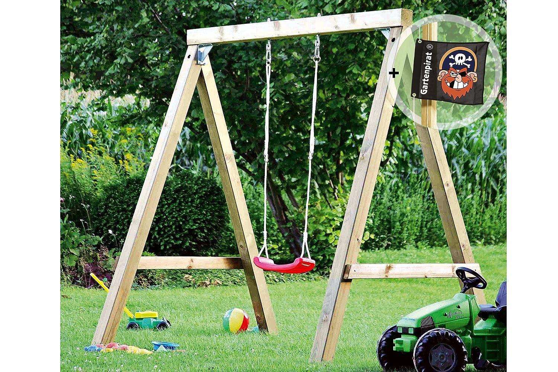 Schaukel Premium Plus 1.1 aus KVH-Holz von Gartenpirat® kaufen