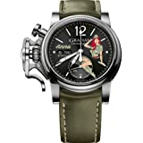 Graham Watch Chronofighter Vintage Nose Art WWII Pin Up Girl Anna Limited Edition 2CVAS.B22A.L141S