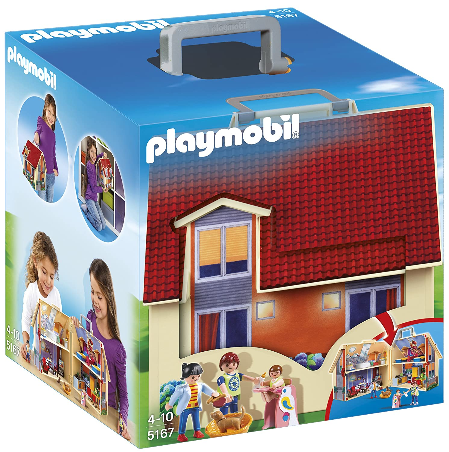 Playmobil Take Along House Playmobil Take Along Modern