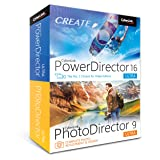 Cyberlink PowerDirector 16 & PhotoDirector 9 Ultra - DVD/CD with Digital Download Copy