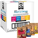 Quaker Instant Oatmeal Fruit and Cream Variety Pack, Breakfast Cereal, 48 Count,Pack of 1