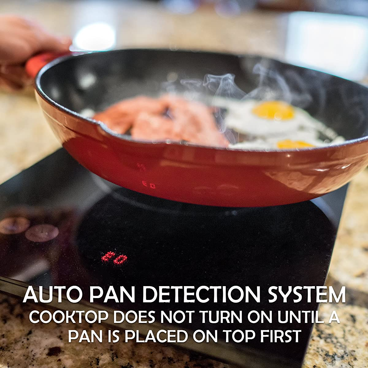 INDUXPERT Portable Electric Induction Cooktop Countertop Burner 9100 (Magnetic Cookware Only)
