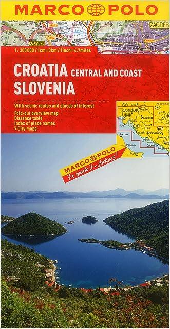 Croatia/Slovenia Marco Polo Map (Marco Polo Maps)