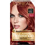 L'Oréal Paris Superior Preference Fade-Defying + Shine Permanent Hair Color, RR-07 Intense Red Copper (1 Kit) Hair Dye (Color: RR-07 Intense Red Copper)