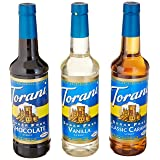 Torani Sugar Free Syrup Variety Pack, 25.4 Ounce (Pack of 4) (Tamaño: 25.4 Ounce (Pack of 4))