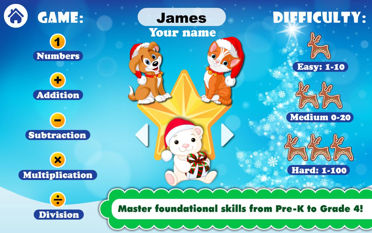 Amazon.com: Math Games for PreK - Grade 4: Math Bingo and