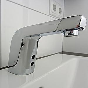 Anschlussfertiges Komplettpaket SensorWasserhahn Kaltwasser incl. Batterien  BaumarktKundenbewertung und weitere Informationen