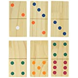 Hey! Play!! Giant Wooden Dominoes Game Set (28 Piece)