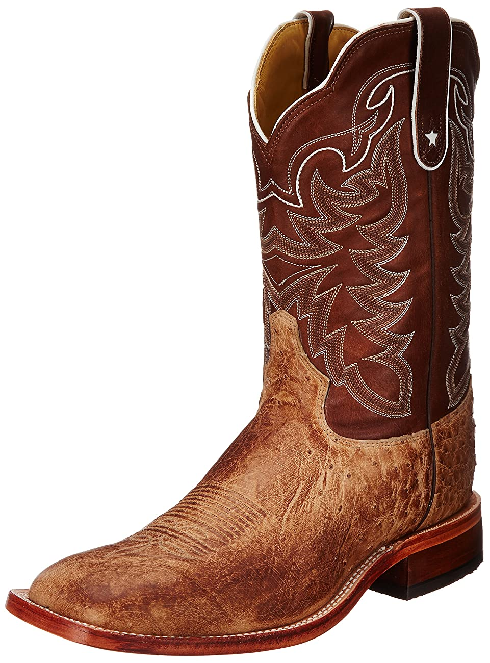 Tony Lama Men's Vintage Smooth Ostrich Western Boot 0