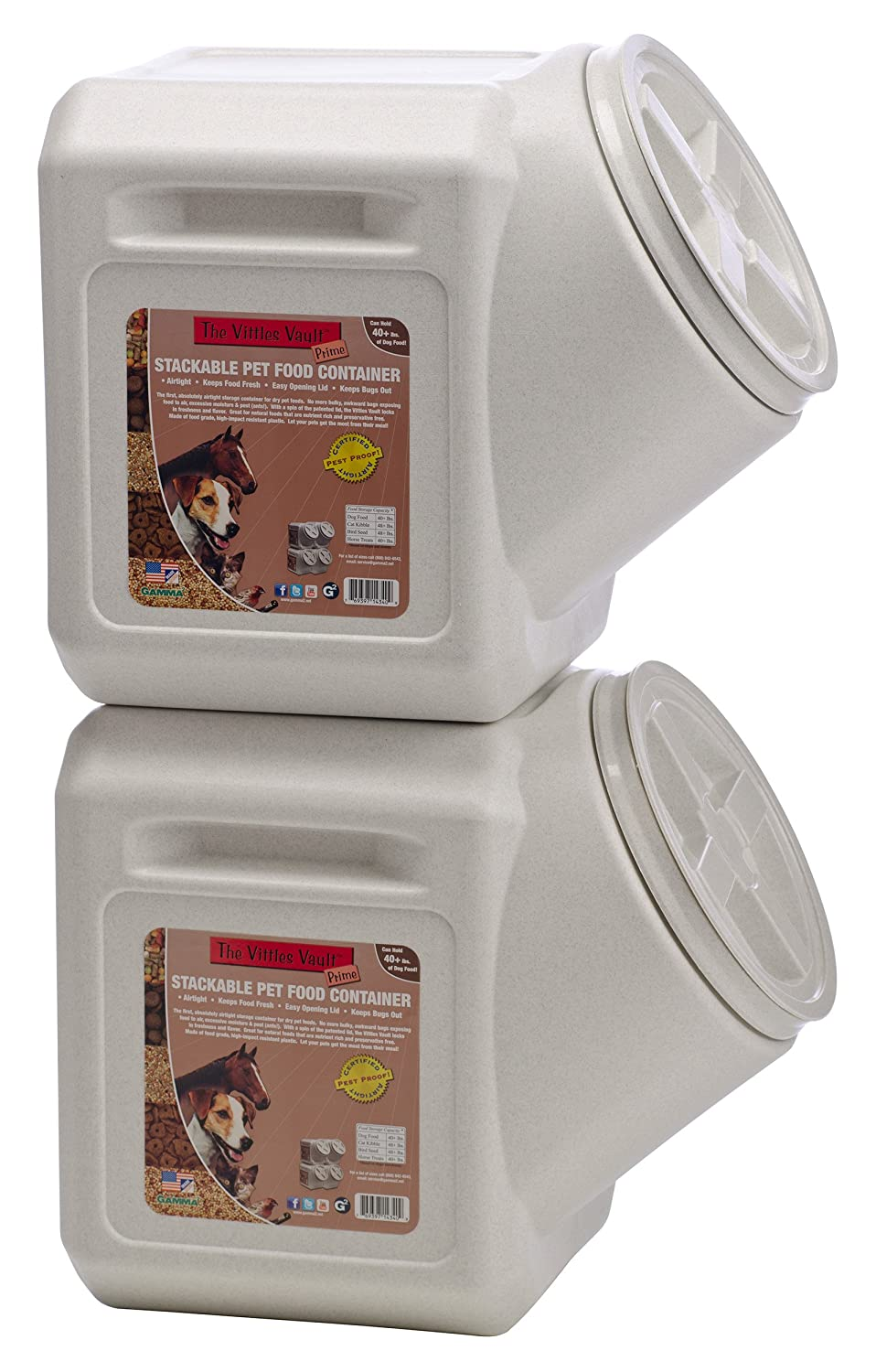large dog food container