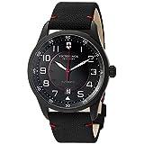 Victorinox Men's 'AirBoss' Swiss Stainless Steel Automatic Watch (Model: 241720)
