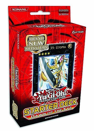 konami - Jeu de Cartes Yu-Gi-Oh - Starter Deck l'avenement des Xyz (anglais)