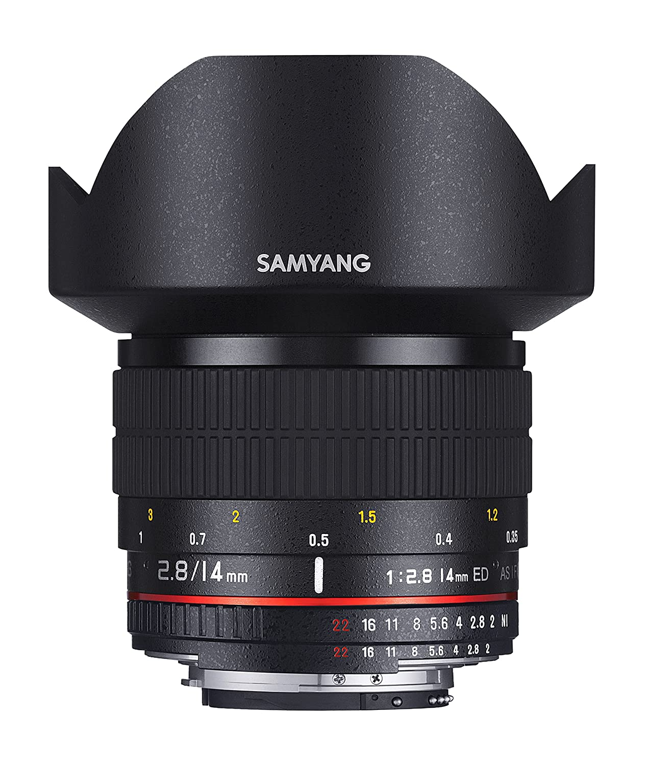 Samyang 14mm f/2.8 IF ED UMC per Nikon