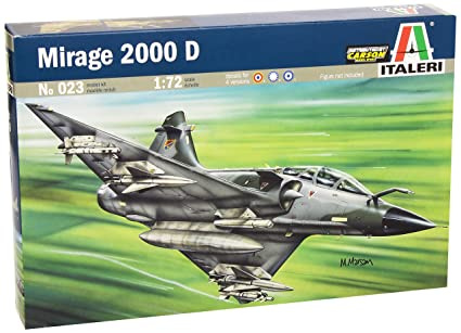 Italeri - I023 - Maquette - Aviation - Mirage 2000 D - Echelle 1:72