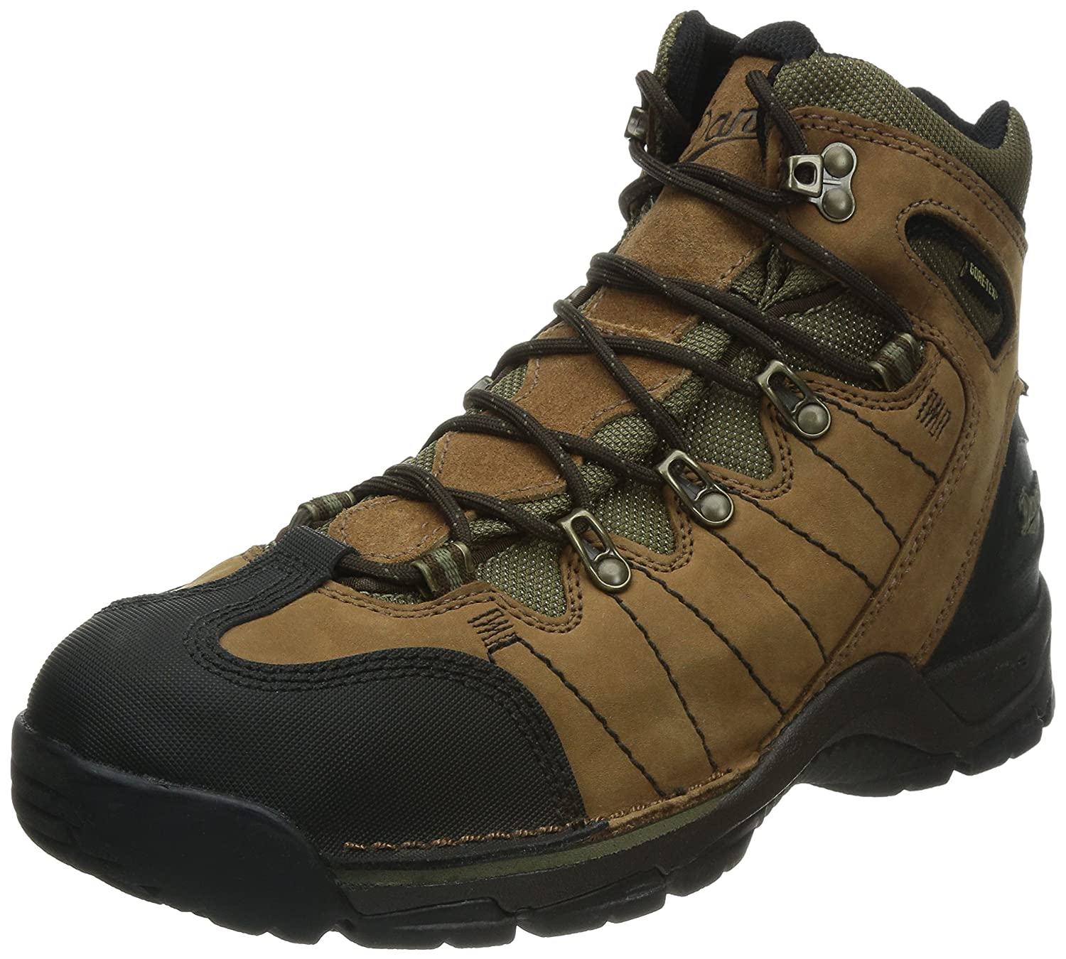Women's Zig Zag Trail Brown Hiking Boots 51