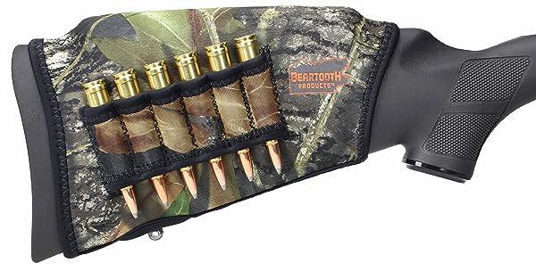 Beartooth Comb Raising Kit 2.0 - Neoprene Gun Stock Sleeve + (5) Hi-density Foam Inserts - RIFLE MODEL (Mossy Oak Break-up) (Color: Mossy Oak Break-up - Right Handed)
