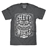 Chevrolet All American | Soft Touch Tee-MD (Color: Dark Heather, Tamaño: Medium)