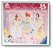 Disney Princess Giant 60 Piece Floor Puzzle