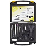 Bergeon 7812 Professional Grade Quick Service Watch Repair Kit in Carry Case #55-699 (Color: Black)