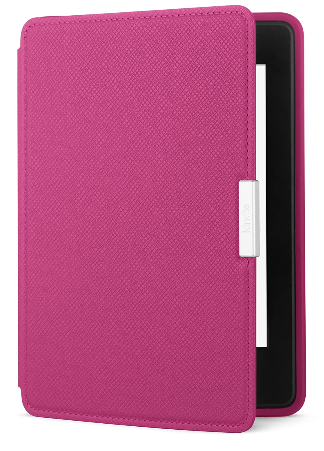 Amazon Kindle Paperwhite Case - Lightest and Thinnest Protective Genuine Leather Cover with Auto Wake/Sleep for Amazon Kindle Paperwhite, Fuschia