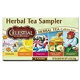 Celestial Seasonings Herbal Tea, Herbal Tea Sampler, 18 Count (Pack of 6) (Tamaño: 18 Count (Pack of 6))