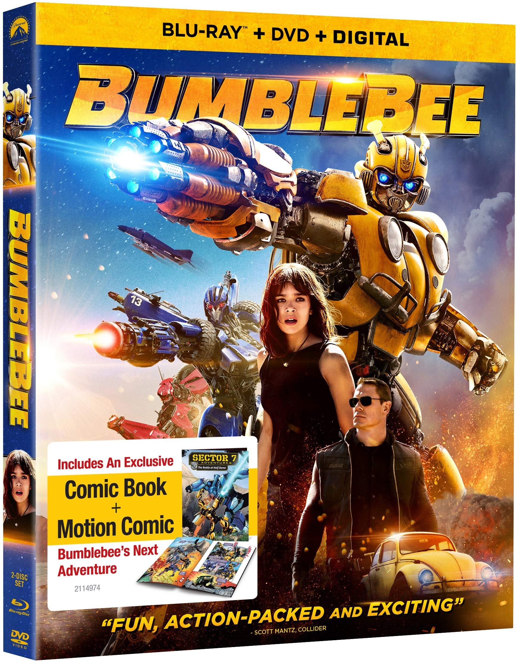 Bumblebee Movie B07JVF7KZM/