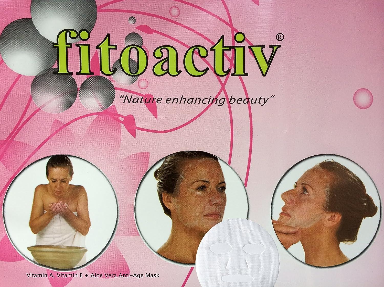 New Natural Vitamin E, Vitamin A + Aloe-vera Antiage Mask Real Lifting Effect