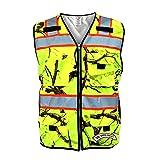 SafetyShirtz SS360 Backwoods Camo ANSI Class 2 Safety Vest L
