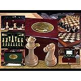 COMPLETE. Luxury 1849 Staunton/Jaques Chess Set. The best ever. Premium Ebony.