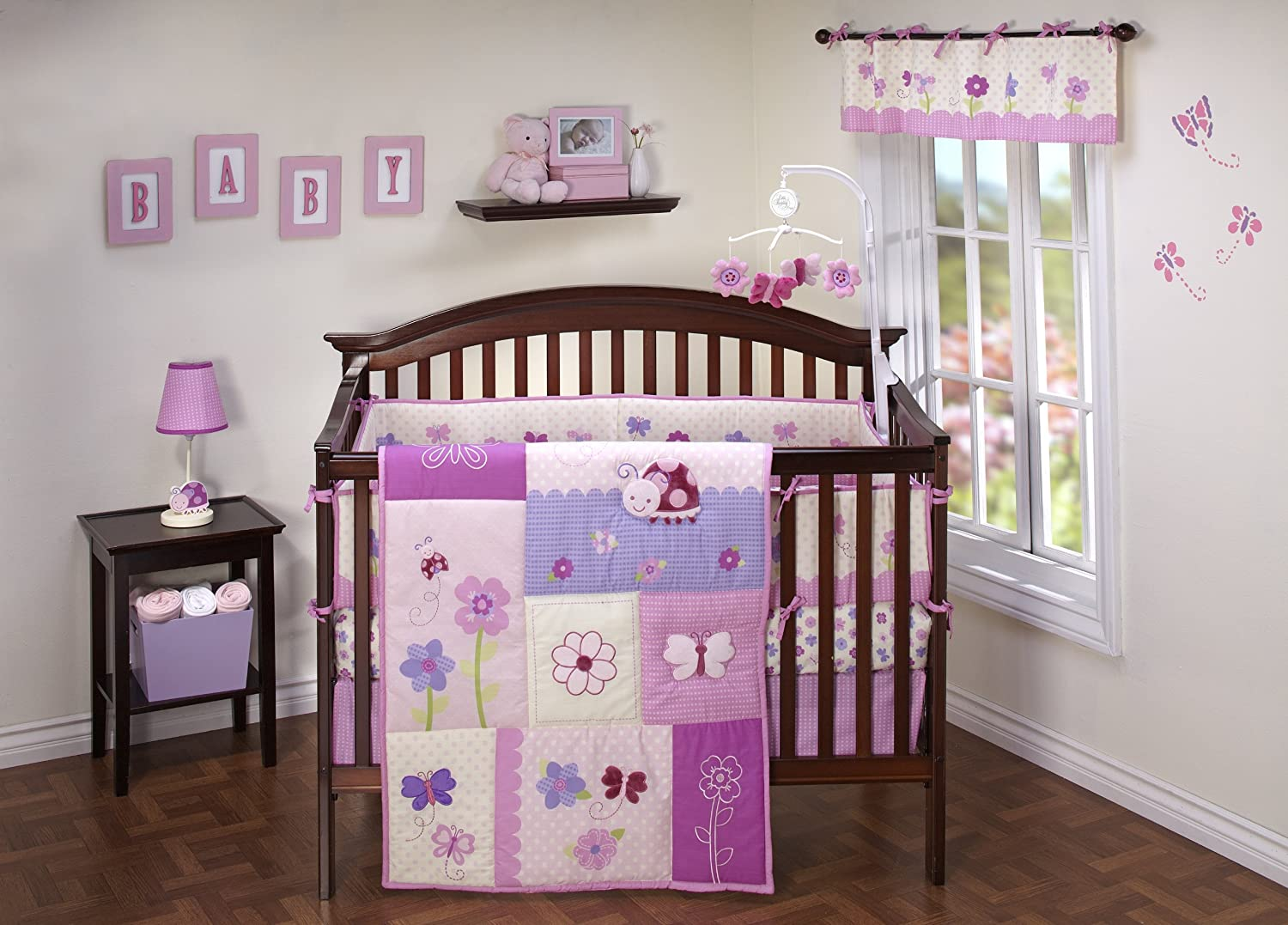 Nojo butterfly kisses baby bedding baby bedding and for Cuartos decorados para bebes