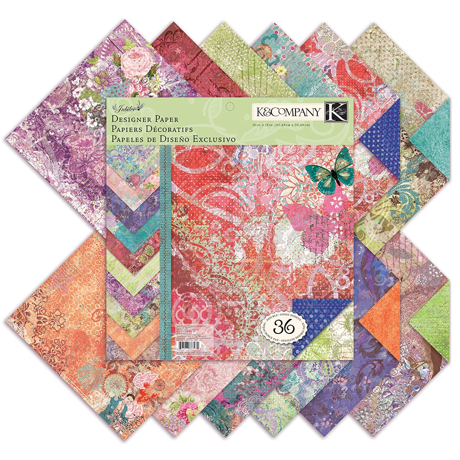 Decorated Paper Designs Designer Paper Pad