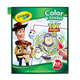 Crayola Toy Story 4 Coloring Pages & Stickers, Gift for Kids, Age 3, 4, 5, 6, 7 (Color: Multi)
