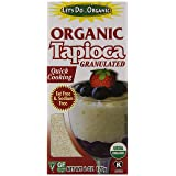 Let's Do Organic Tapioca, Granulated, 6 Ounce (Pack of 6)