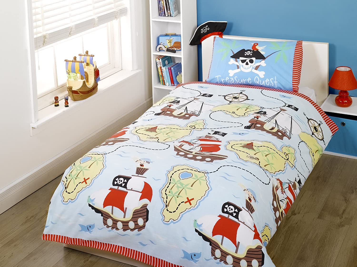 Lego Pirates Of The Caribbean Bedding Sheet Set