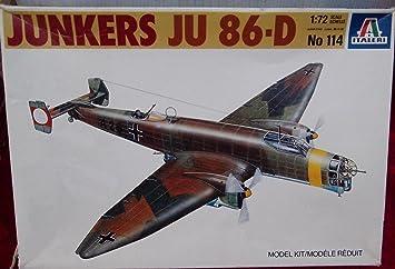 Maquette avion : Junkers Ju86D