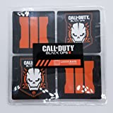 Call Of Duty Black Ops III Coaster Set of 4 - Limited Edition Lootcrate CoD Exclusive (Color: Black Ornage)