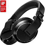 Pioneer Pro DJ Black (HDJ-X7-K Professional DJ Headphone) (Color: Black)