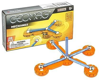 Geomag - 6844 - Jeu De Construction - Mechanics - 28 pièces