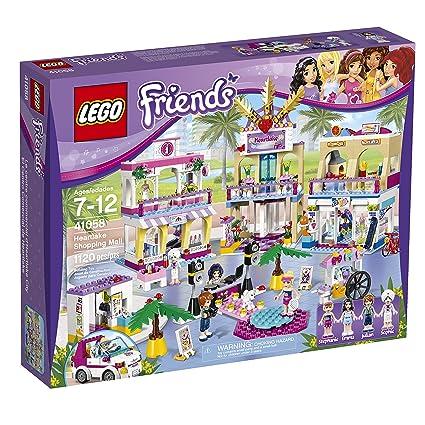 Amazon.com: LEGO Friends Heartlake Shopping Mall 41058 Building Set: Toys & Games