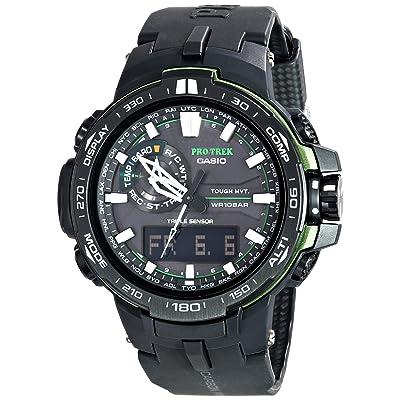 <strong>Casio Men's PRW-6000Y-1ACR Pro Trek Black Analog-Digital Sport Watch</strong>