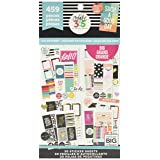 me & my BIG ideas Sticker Value Pack for Big Planner - The Happy Planner Scrapbooking Supplies - Color Story Theme - Multi-Color - Great for Projects & Albums - 30 Sheets, 459 Stickers Total (Color: Classic Faith)