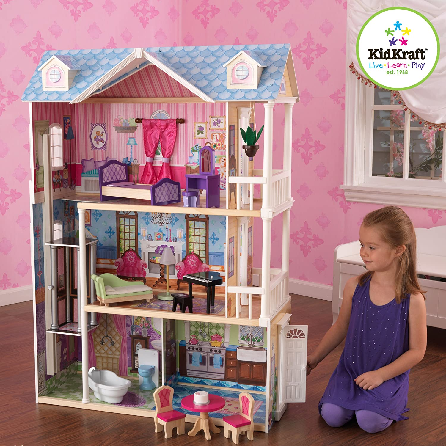 best toys for kids 2016 the best dollhouses for siblings friends. Black Bedroom Furniture Sets. Home Design Ideas