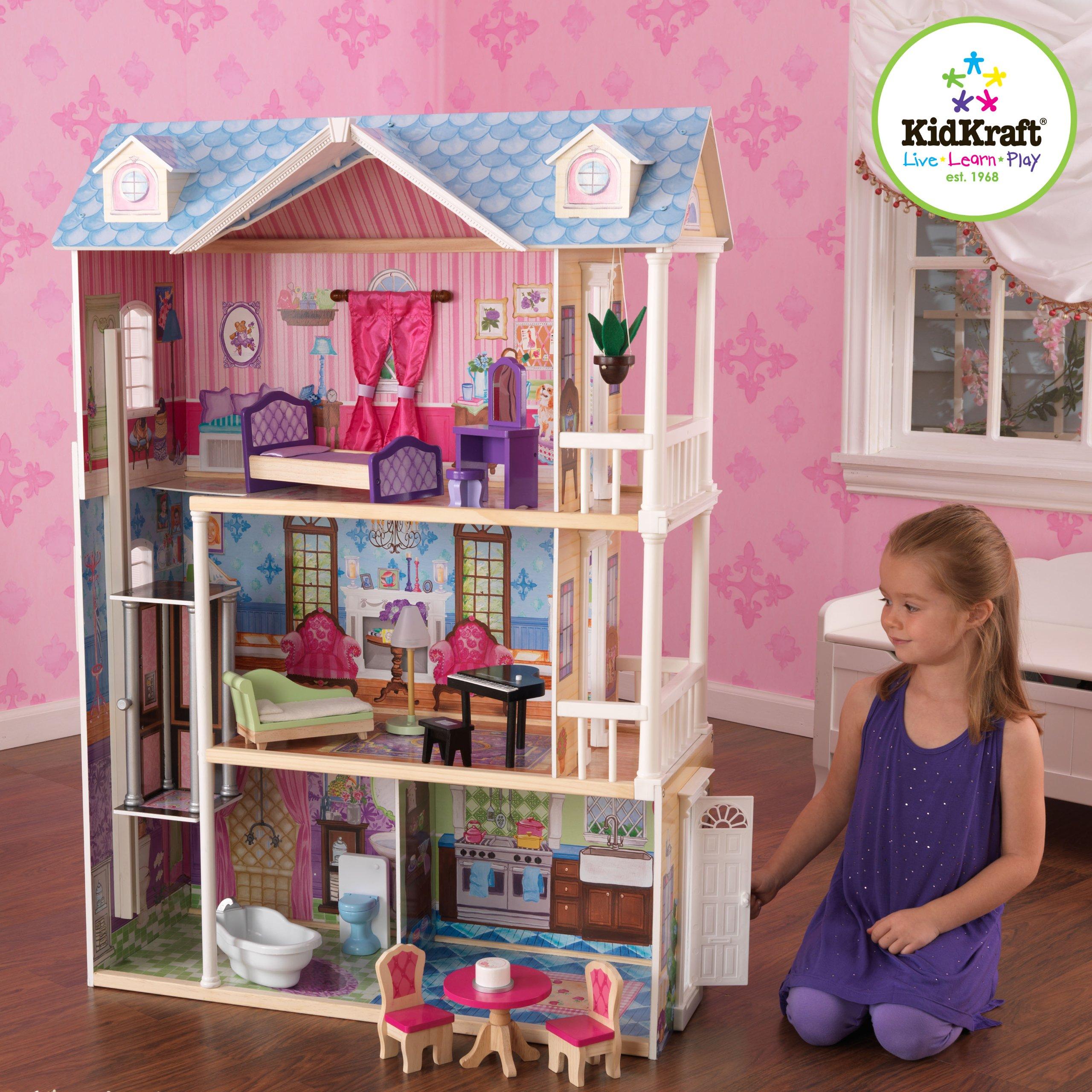 Galleon KidKraft My Dreamy Dollhouse With Furniture