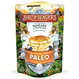 Paleo Pancake and Waffle Mix by Birch Benders, Low-Carb, High Protein, High Fiber, Gluten-free, Low Glycemic, Prebiotic, Keto-Friendly, Made with Cassava, Coconut and Almond Flour, 12 Ounce (Tamaño: 1 Pack)